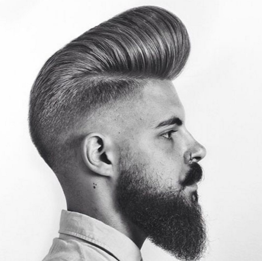 hairstyles Pompadour mens 2017 haircuts