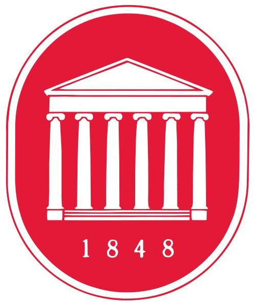 University of Mississippi school colors seal