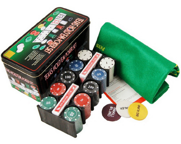 poker set gift for groomsmen