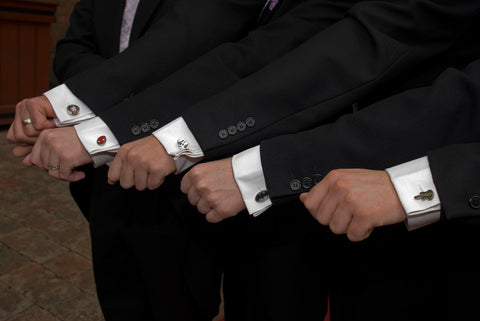cufflinks for the groomsmen gifts