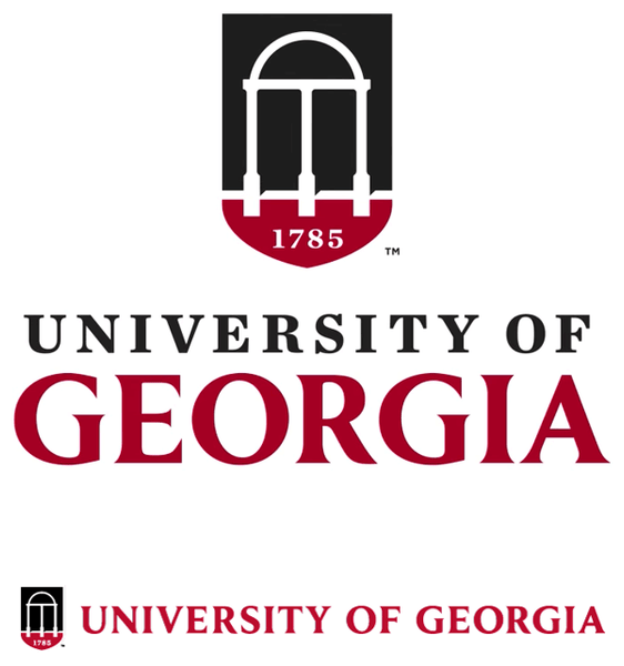 University of Georgia school tie colors