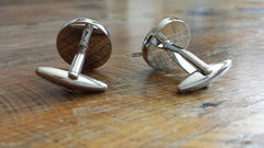 Happy Face Cuff Links