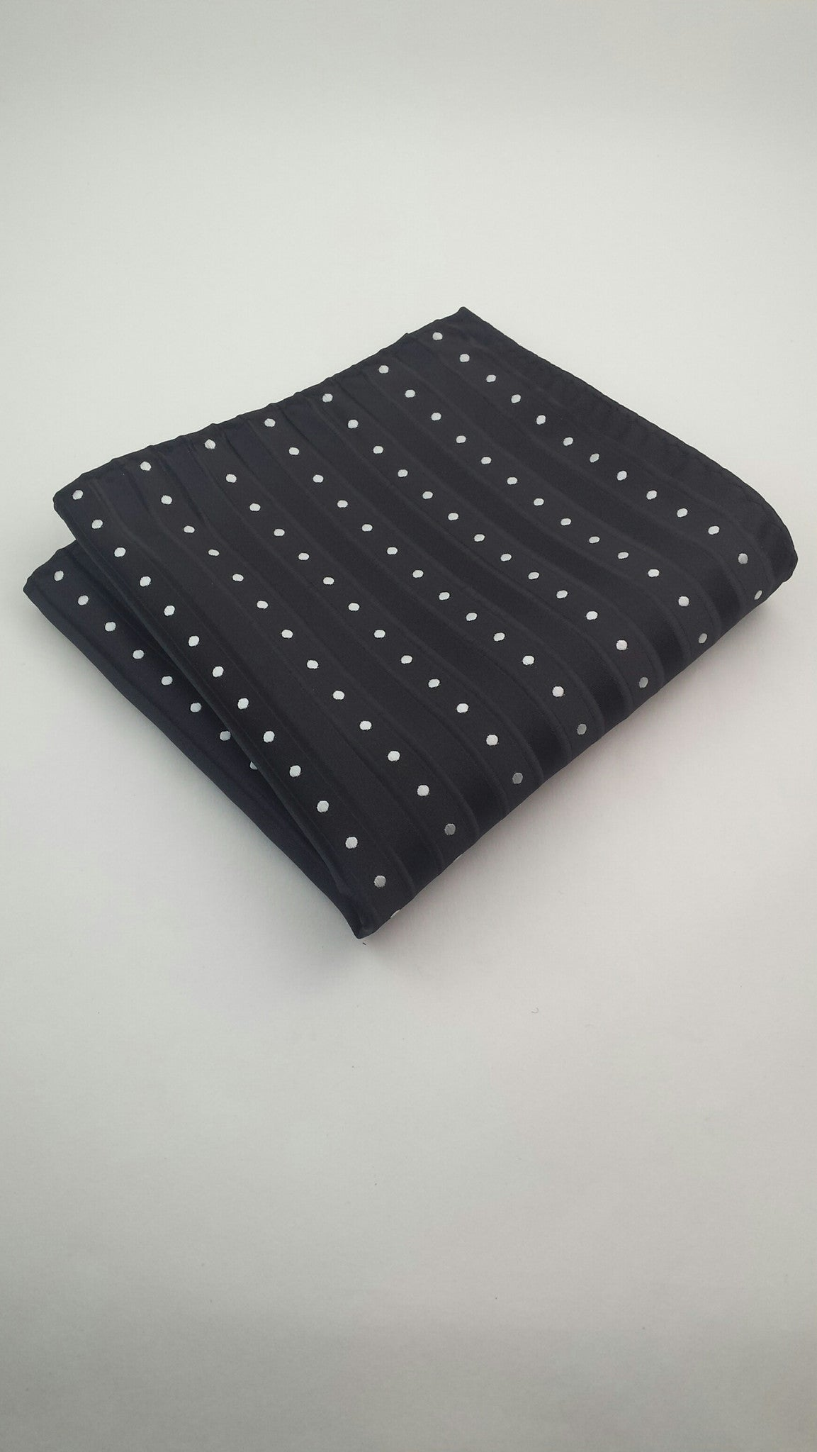 Black and White Pocket Hanky