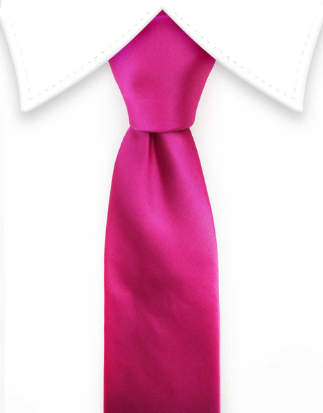 hot pink extra long tie