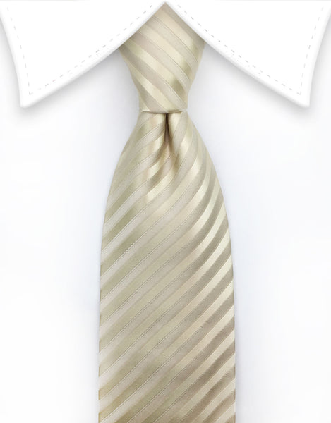 Champagne Striped Tie