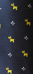 Dog Necktie Swatch