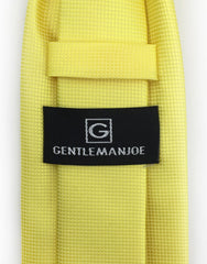 Gentleman Joe's Yellow Tie
