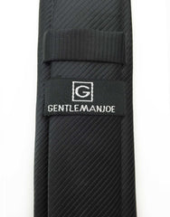 Gentleman Joe Black Skinny Tie