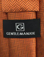 GentlemanJoe Orange Necktie