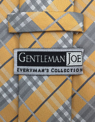 Gentleman Joe Apricot Plaid Tie