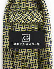 Gentleman Joe Gold and Navy Tie