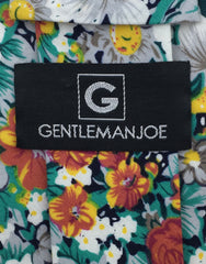 Gentleman Joe Orange Floral Tie