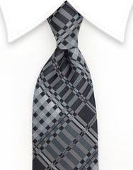 Charcoal Gray Necktie