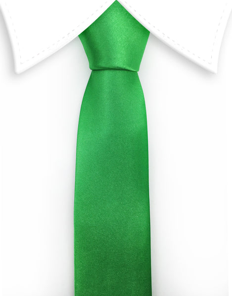 Apple Green Skinny Tie