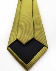 Gold with Green Hue Tie
