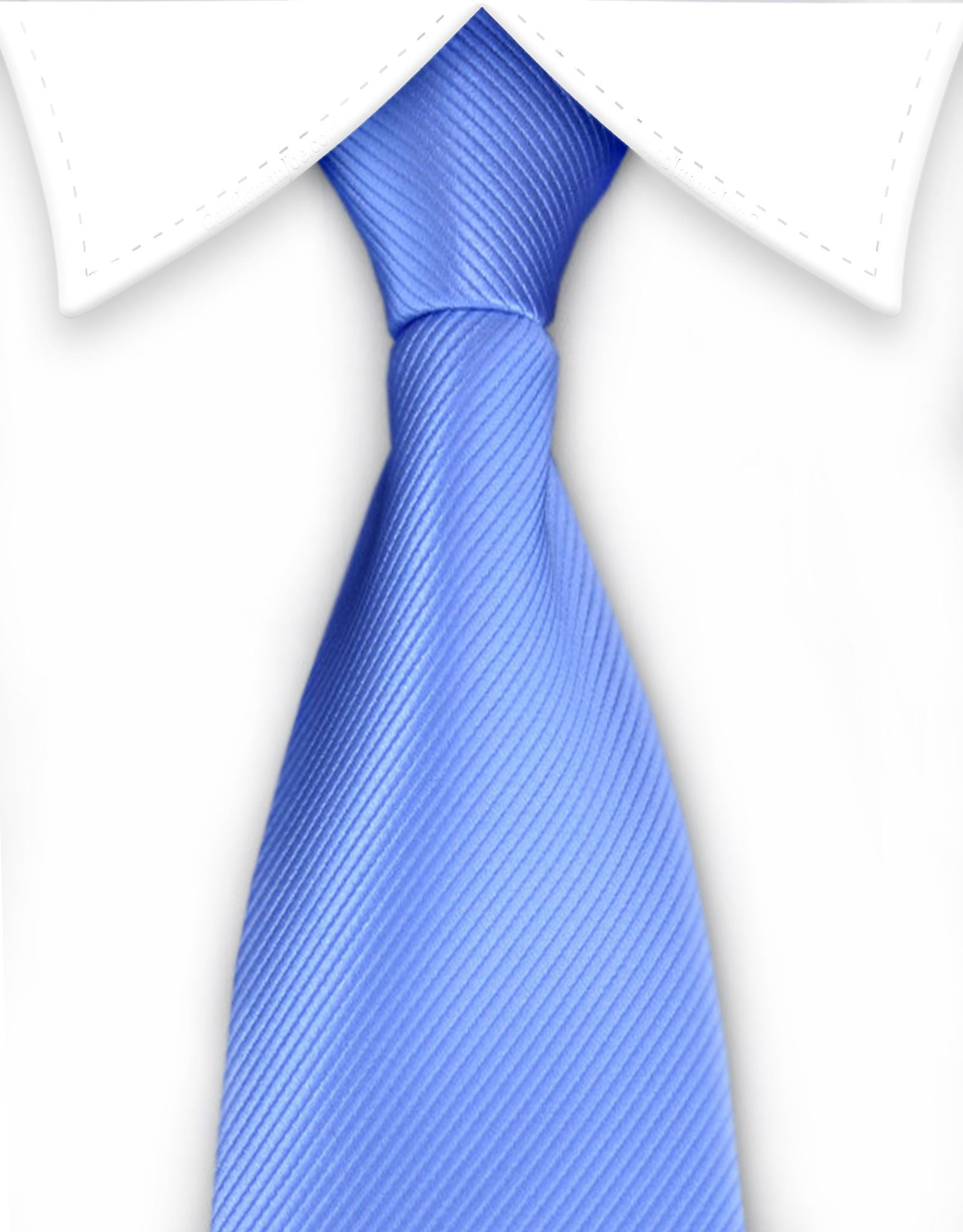 Light Blue Men's Zipper Tie