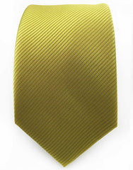 Gold Necktie with green hue