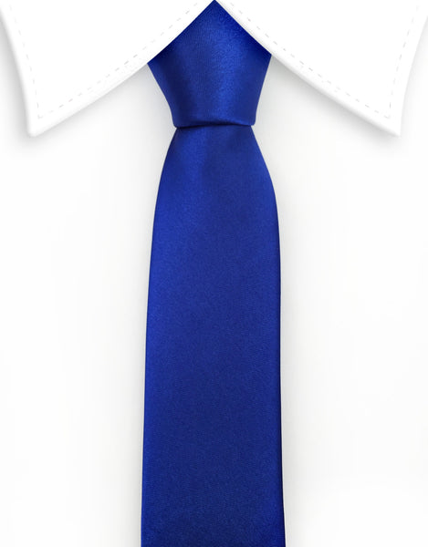 Royal Blue Skinny Necktie