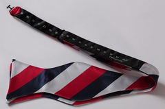 Red, White & Blue Self Tie Bow Tie