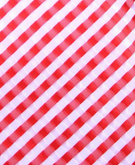 Red white Tie Swatch