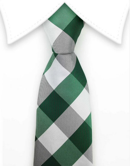 Green teen ties