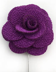 Purple Flower Stick Pin Jewelry