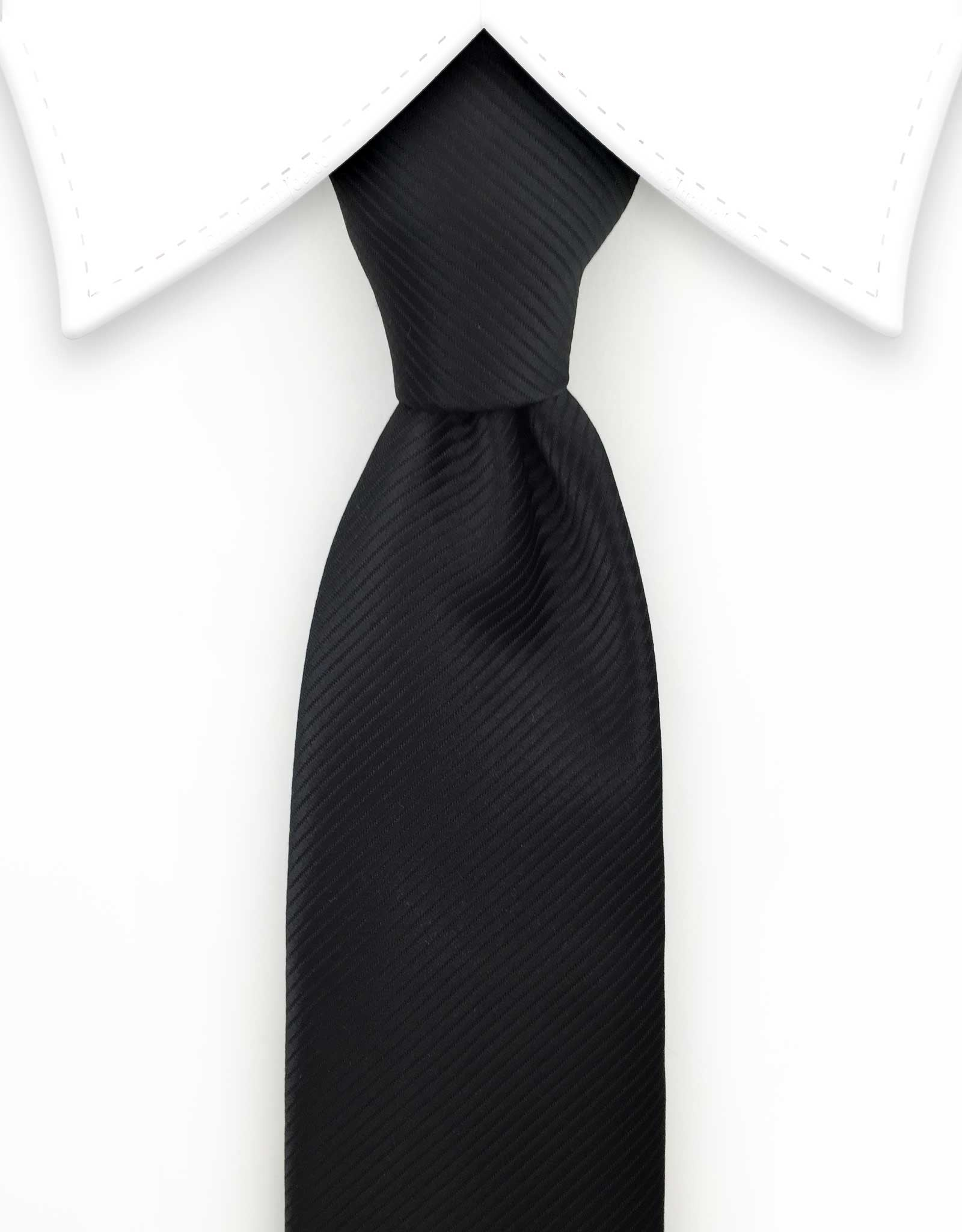 Black Extra Long Tie