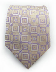 Antique beige tie