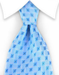 Light sky blue tie