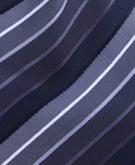 Charcoal & Black Striped Tie