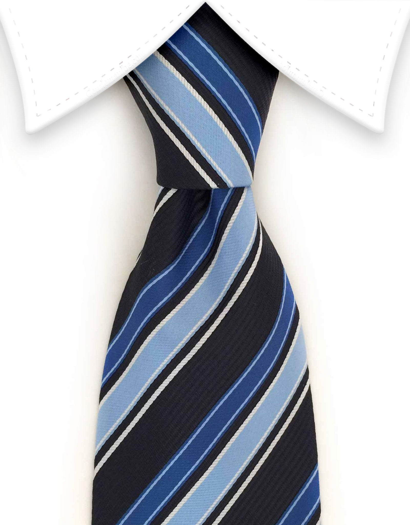 Black & Blue Necktie