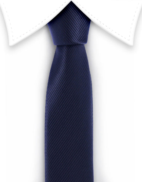 Black narrow tie