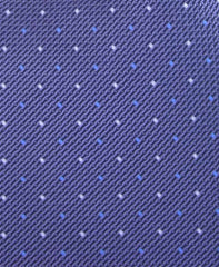 Blue Grey Pin Dot Tie