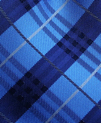Royal Blue & Navy Plaid Tie