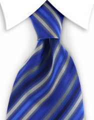 blue olive striped tie