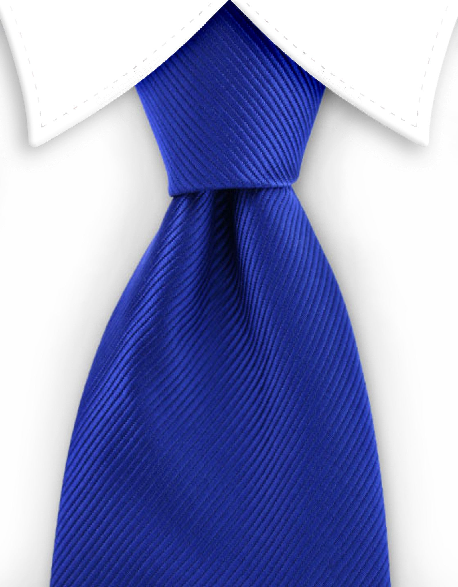 Royal blue tie