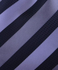 Charcoal and Black Striped Tie