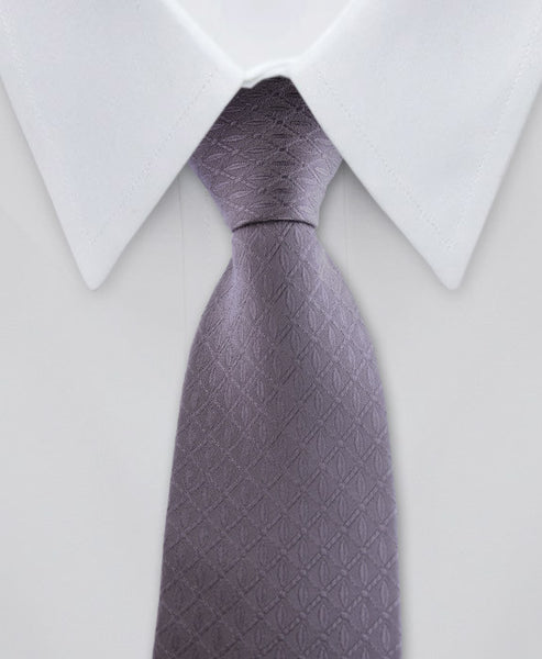 Charcoal Gray Skinny Tie