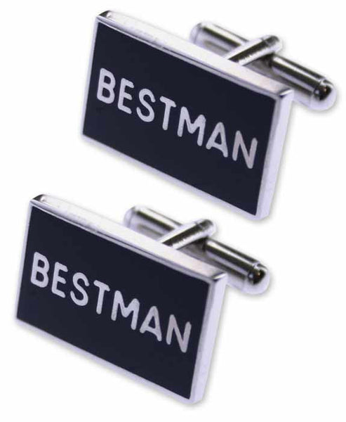 Bestman Wedding Cuff Links