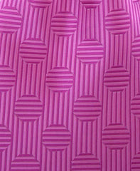 Pink Polka Dot Tie with Stripes