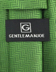 Gentleman joe kelly green necktie
