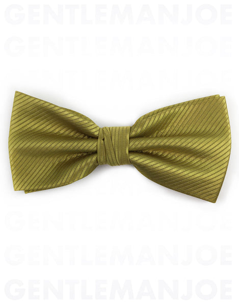 Gold Bow Ties