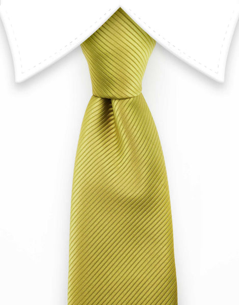 gold extra long tie