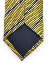 tip of gold tie