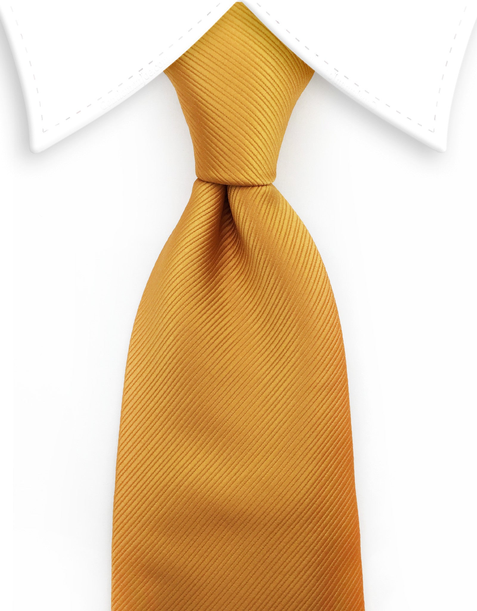 golden orange tie