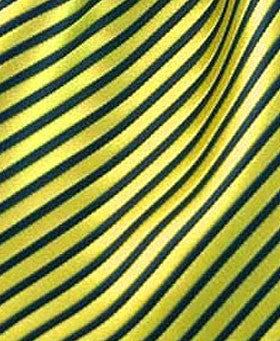 yellow black striped pocket hanky