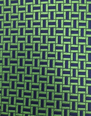 Green Navy Tie Swatch