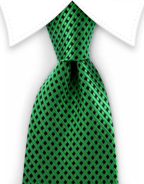 Green Silk Extra Long Ties