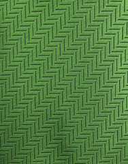 green herringbone tie swatch
