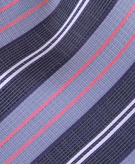 Black, Grey, Pink Striped Necktie